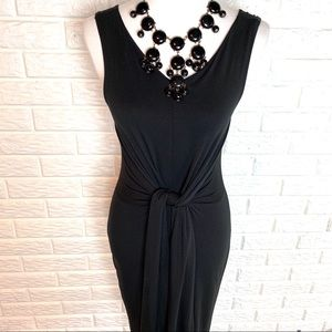 "CJLA ""Holly"" black dress size M"